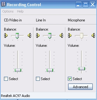 Windows: how to manually adjust your microphone volume - voxforge org